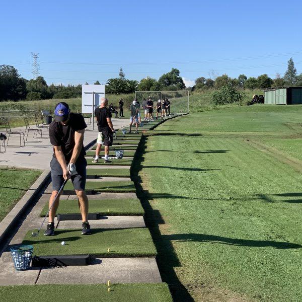 Newcastle Golf Practice Centre Tee area 2
